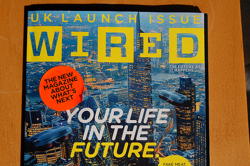 UK Edition of Wired launched this week